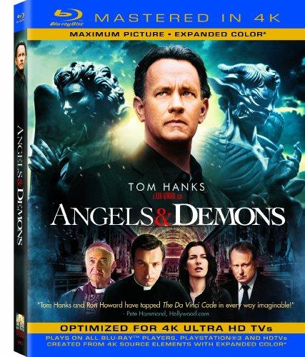 Angels & Demons (Mastered in 4K) (Single-Disc Blu-ray + Ultra Violet Digital Copy)