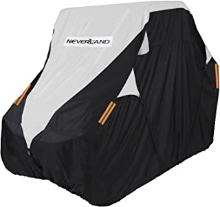 NEVERLAND UTV Cover, Deluxe Waterproof Heavy Oxford Material for Polaris RZR Yamaha Rhino Can-Am Defender Honda Pioneer Kawasaki Mule Teryx 2-3 Passenger(Up To 125