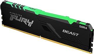 8GB 3600MHz DDR4 CL17 DIMM FURY Beast RGB