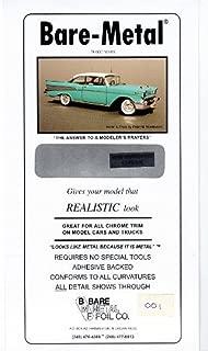 Chrome Bare-Metal Foil Model Car Truck Kit Adhesive by Bare Metal Foil