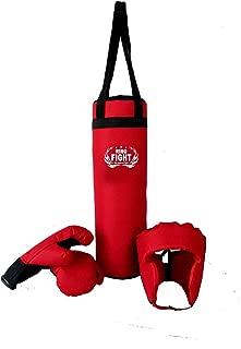 Opti Pro Fitness 3ft 3 FT Filled Boxing Set Punch Bag Punchbag Punching Gloves