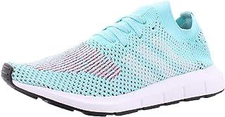 Womens Swift Run Primeknit Casual Sneakers, Blue, 10