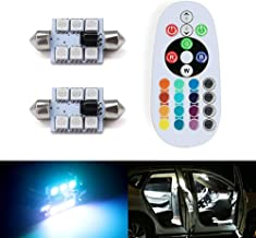 cold white, 39mm IGORW 2Pcs DC12V Luces LED Bombillas de interior de coche Luces de lectura de c/úpula L/ámparas de interior al aire libre