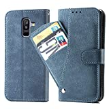Asuwish Samsung Galaxy A6 Plus Wallet Case,Luxury Leather Phone...
