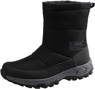 FWEIP Men Winter Cotton Shoes Waterproof Plus Velvet Warm Boots Comfortable Snow Boots 2020 Fashion