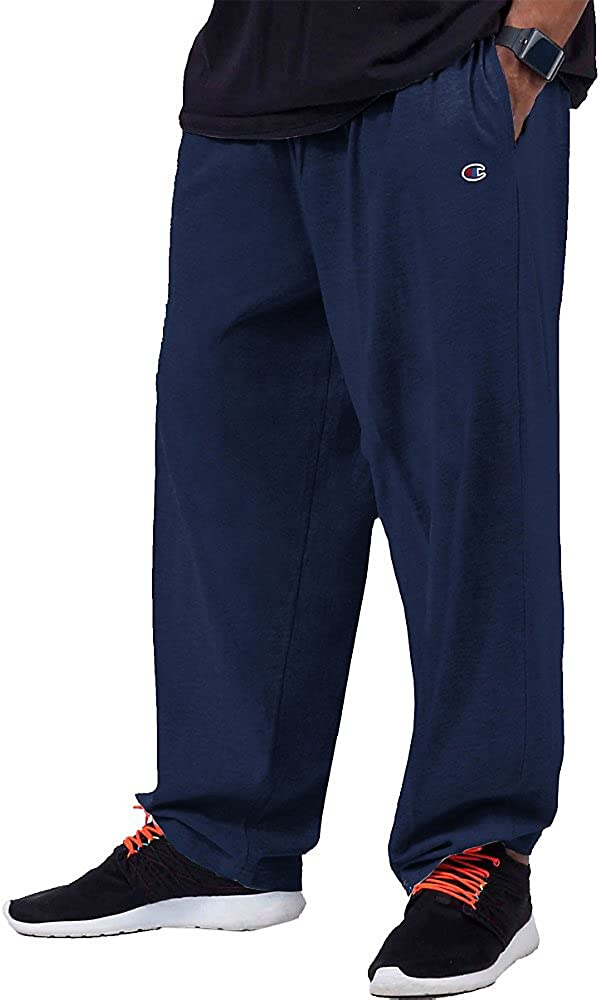 Champion Men's Big and Tall Big & Tall Closed Bottom Jersey Pant