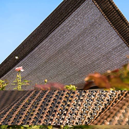 90-95% tela protectora de protección solar Red de malla resistente a los rayos UV Sun Mesh, lona de malla de sombra para cubierta vegetal, invernadero, granero, perrera, cochera, flores, plantas, cé