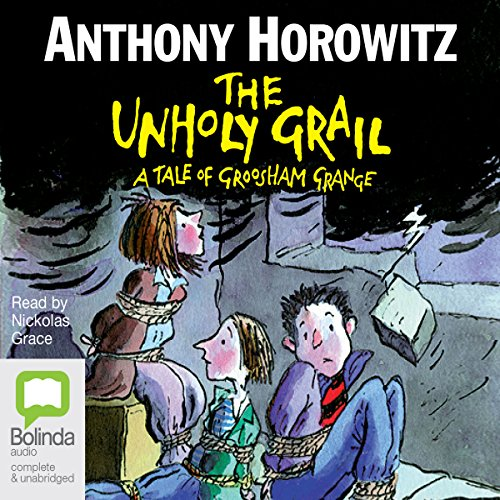 The Unholy Grail audiobook cover art