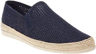 SOLE Mens Buckly Espadrilles Shoes Blue