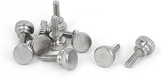 100 St/ücke Einstellbare M4 R/ändelkopfschraube High Head Industrial Screw M4*5(100pcs)