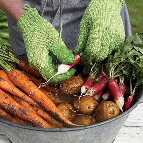 AGBFJY Peeled Aardappel Schoonmaken Handschoenen Keuken Groente Fruit Huid Schrapen Vis Schaal Huishoudelijke Handschoenen