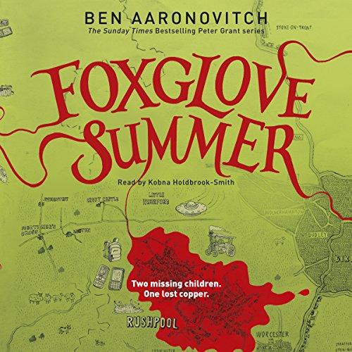 Foxglove Summer audiobook cover art