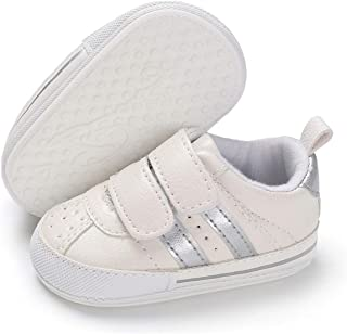 Baby Boys Girls Shoes Non Slip Soft Sole Infant Toddler Sneaker First Walker Tennis Crib Dress Shoes