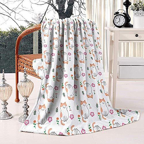 Geen applicatie wegwerpblanket leuk bloemenpatroon van wol Living Warm fleece winter sofa all Season Gettare deken licht zomer flanel
