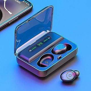 Loijon F9 Bluetooth 5.0 Fones de ouvido Bluetooth sem fio verdadeiros TWS Earbuds com display digital Fones de ouvido esté...