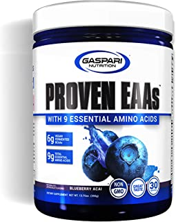 Proven EAAs with 9 Essential Amino Acids, Blueberry Acai, 30 Servings