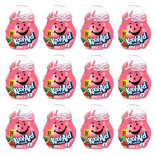 Kool Aid Watermelon Liquid Concentrate Drink Mix, 1.62 Fluid Ounce -- 12 per case.
