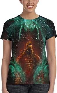 Womens God-Zilla 2 King of Monsters 3D Printed Short Sleeves Shirt