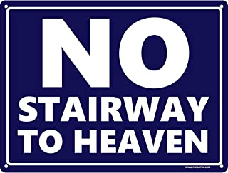 Grindstore No Stairway To Heaven Mini Tin Sign