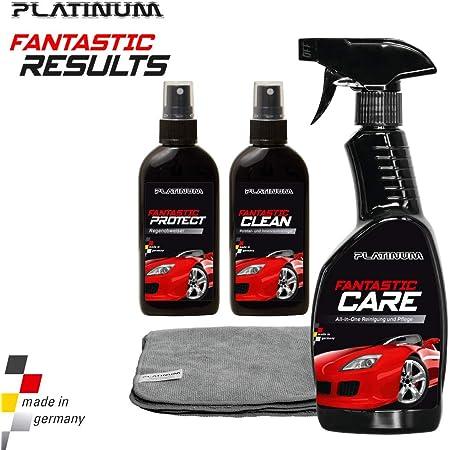 Platinum Fantastic Results - Autopflegeset inkl. Microfasertuch   Das Original aus dem TV von MediaShop
