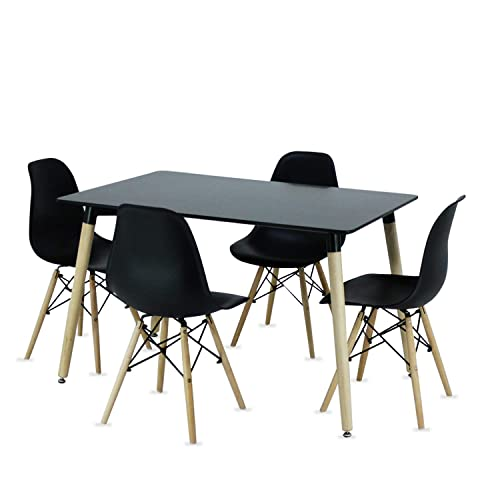 Retro Dining Table And Chairs Amazoncouk