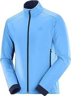 [サロモン] シェルジャケット Agile Softshell Jacket Men (アジャイル ソフトシェル ジャケット) メンズ