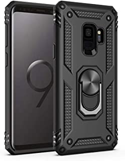 Samsung Galaxy S9 Plus Case,[ Military Grade ] 15ft. Drop Tested Protective Case   Kickstand   Compatible with Samsung Galaxy S9 Plus-Black