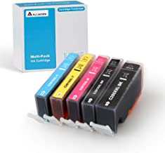 Allwork PGI280XXL CLI281XXL Compatible Ink Cartridges Replacement for Canon 280 281 XXL Works with Canon Pixma TR8520 TS9120 TS6220 TS6120 TS8120 TR7520 TS8220 TS9521C TS9520 5 Packs