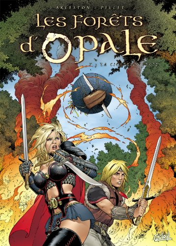 Les Forêts d'opale, tome 3 : La Cicatrice verte