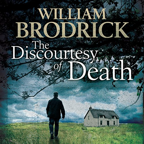 The Discourtesy of Death audiobook cover art