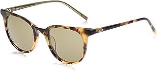 نظارات شمسية كونكريت جانغل بتصميم دائري للنساء من دي كيه ان واي، لون توكيو تورتويس