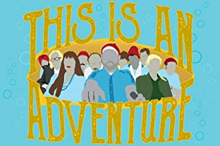 This is an Adventure Minimalist Movie Cool Wall Decor Art Print Poster 24x36