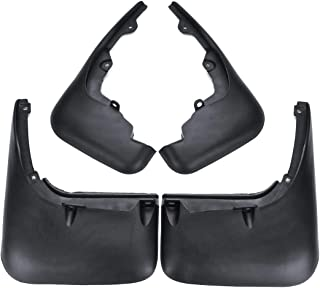 LAUTO Mud Flaps,Suitable for 2014-2019 Tesla Model S /& 2015-2019 Tesla Model X Mud Flaps Splash Guards Set of 4,ModelS