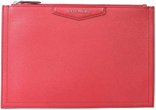 Givenchy Women's BB609CB00B640 Red Leather Clutch