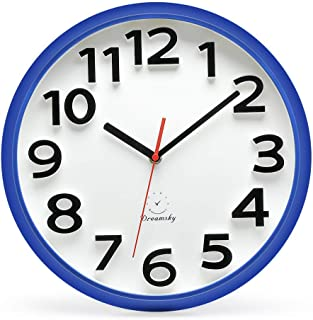 Best wall clocks blue Reviews