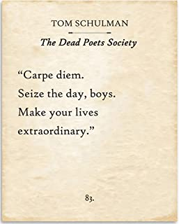 Best dead poets society poster Reviews