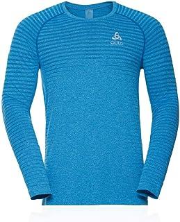 Odlo Män T-shirt L/S Crew Neck Seamless Element Shirt