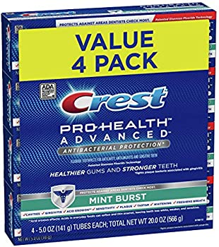 4-Pack Crest Pro-Health Advanced Antibacterial Protection Toothpaste