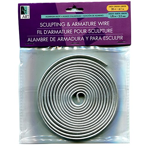 Armature Wire 1/8In X20Ft Coil
