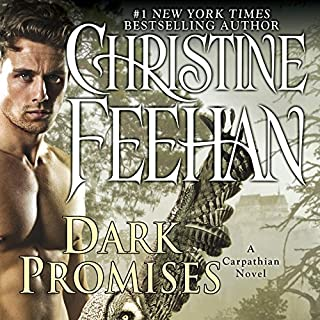 Dark Promises     A Carpathian Novel              By:                                                                                                                                 Christine Feehan                               Narrated by:                                                                                                                                 Phil Gigante,                                                                                        Natalie Ross                      Length: 13 hrs and 38 mins     810 ratings     Overall 4.4
