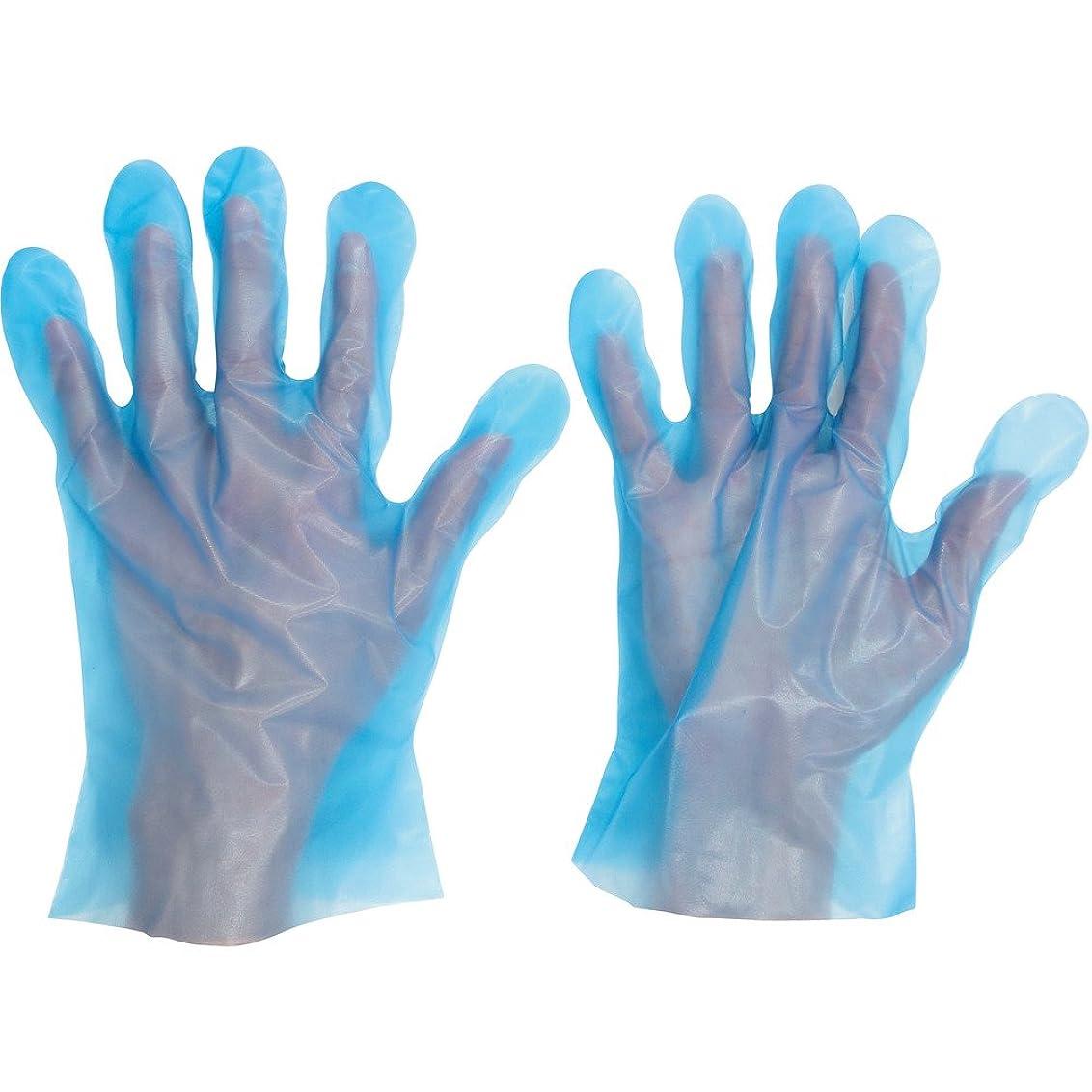 レコーダーアナニバーこれらミドリ安全 ポリエチレンディスポ手袋 ベルテ574 100枚 袋入 SS VERTE-574-SS ポリエチレン使い捨て手袋