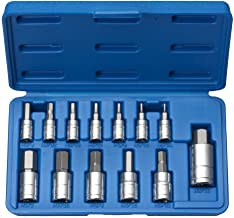 Professional 13 pc SAE HEX ALLEN WRENCH BIT SOCKET TOOL SET from J&R Quality Tools