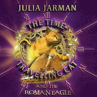 The Time-Travelling Cat and the Roman Eagle cover art