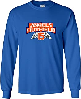 Long Sleeve Blue Tim Tebow New York Angels in The Outfield T-Shirt