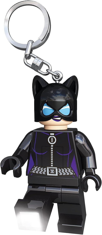 LEGO LGLKE40 - Schlüsselhnger mit Lampe Catwoman, mehrfarbig