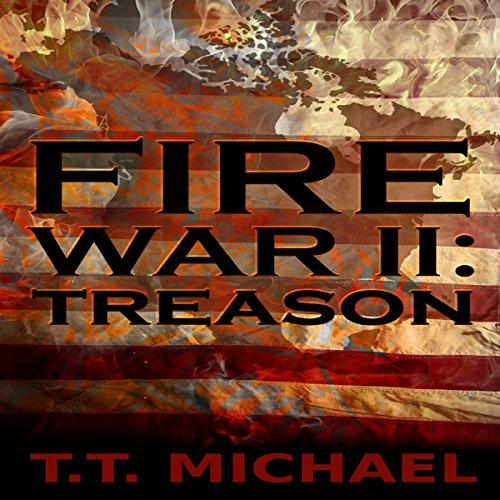Fire War 2 audiobook cover art