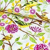 Emily&Joe's fabrics 100% Baumwolle Stoff Meterware Vögel