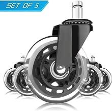 Best soft rubber wheel casters Reviews
