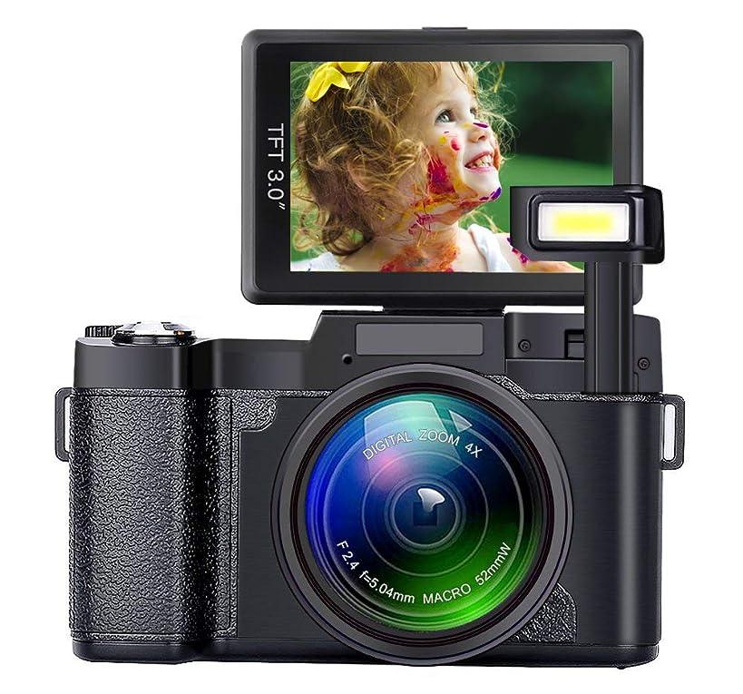 Digital Camera Seree Video Cameras 4X Digital Zoom Vlogging Camera Point and Shoot Digital Cameras 24MP Blogging Camera Selfie Camera with Flip Screen