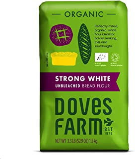 Doves Farm Organic Strong White Bread Flour - 1.5 kg